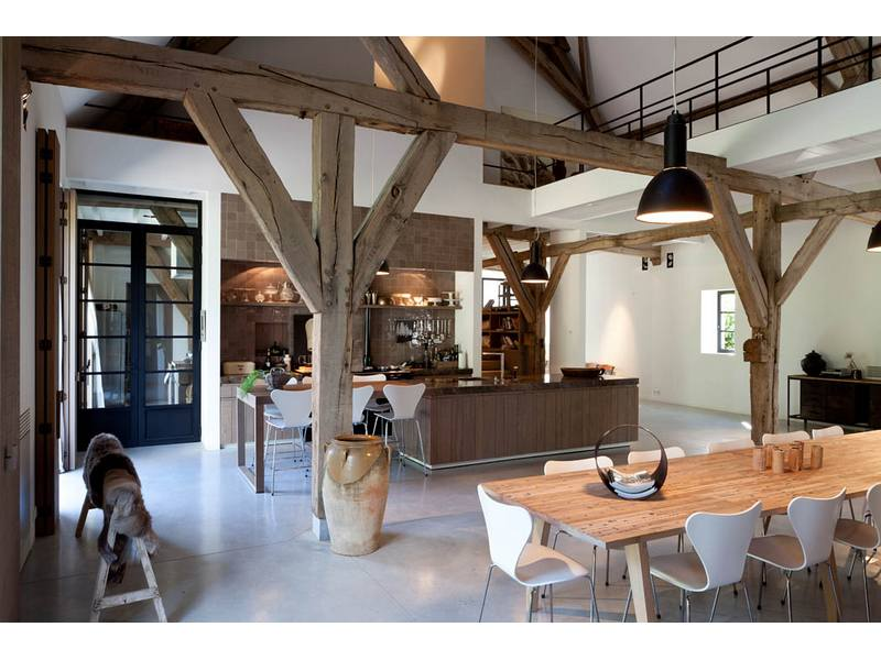 gerestaur hoeve interior ideas